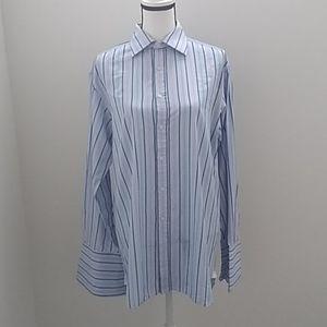 Thomas Pink Striped Shirt